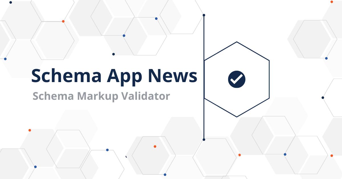 What is the Schema Markup Validator (SMV)