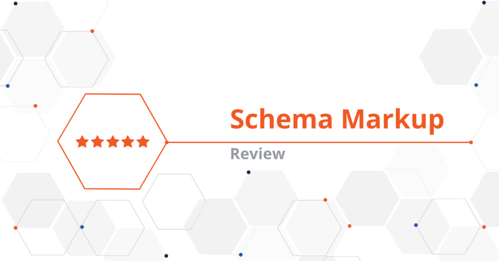 """Creating """"Review"""" Schema Markup"""