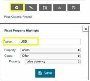 Add a fixed property.