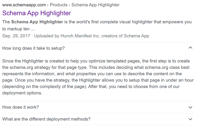 Schema App Highlighter FAQ