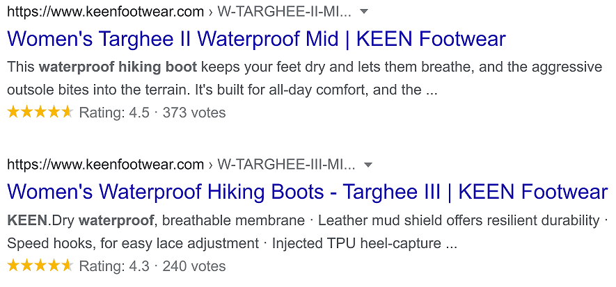 KEEN Women's Targhee Waterproof Hiking Boots Review Snippets