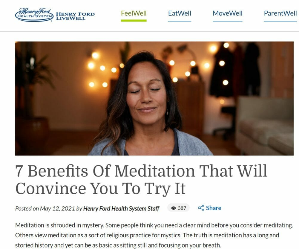 Henry Ford Health System Wellness Blog